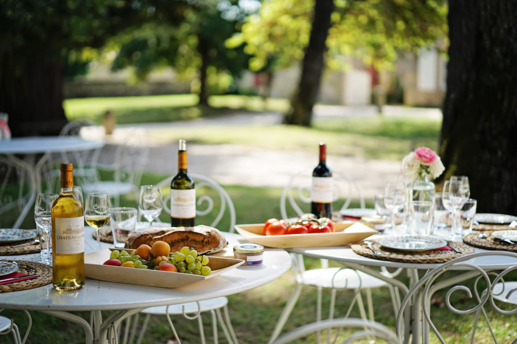 Table pique-nique Château de Cérons