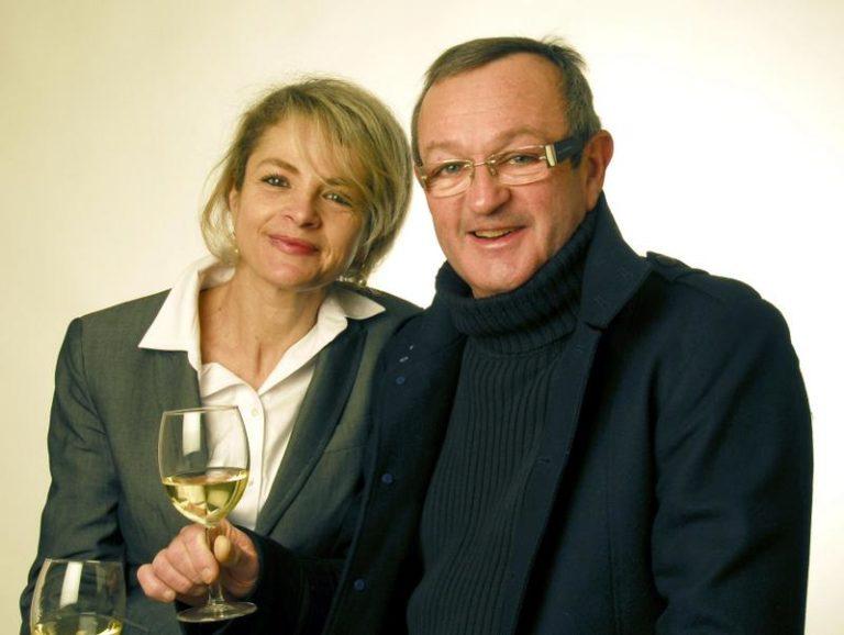 Couple propriétaires Château Gravas