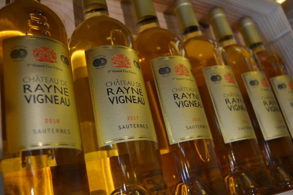 Bouteille de Sauternes Château de Rayne Vigneau