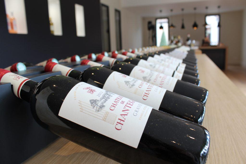 Château Chantegrive Bouteilles de vin rouge