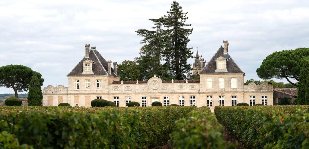 Château de Cérons façade