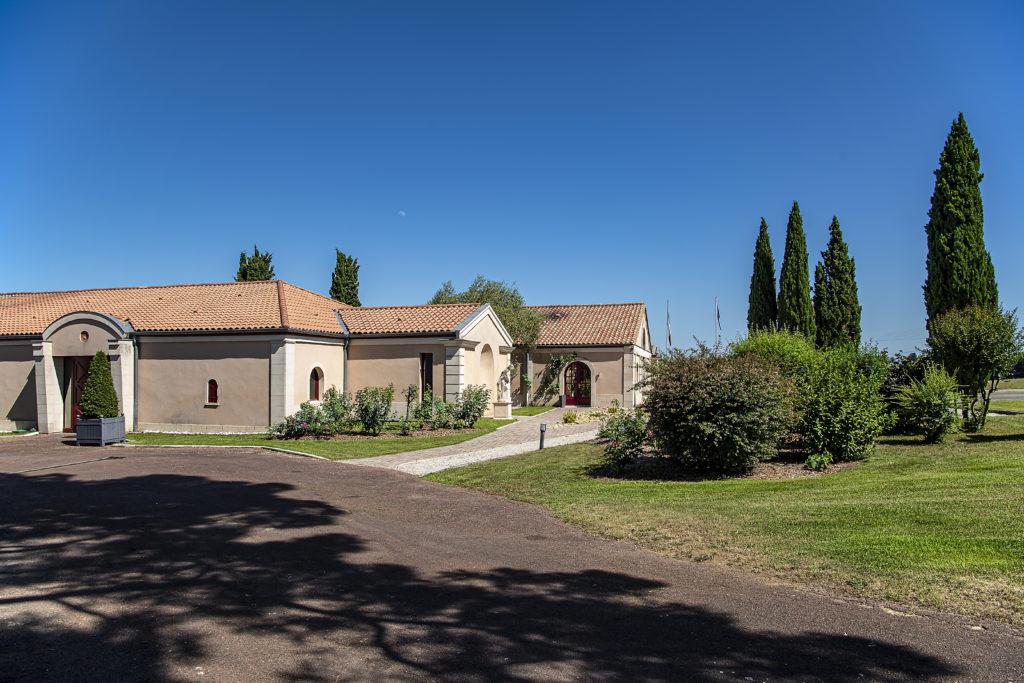 Château Chantegrive Façade