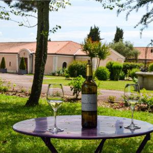 Table au Château Chantegrive