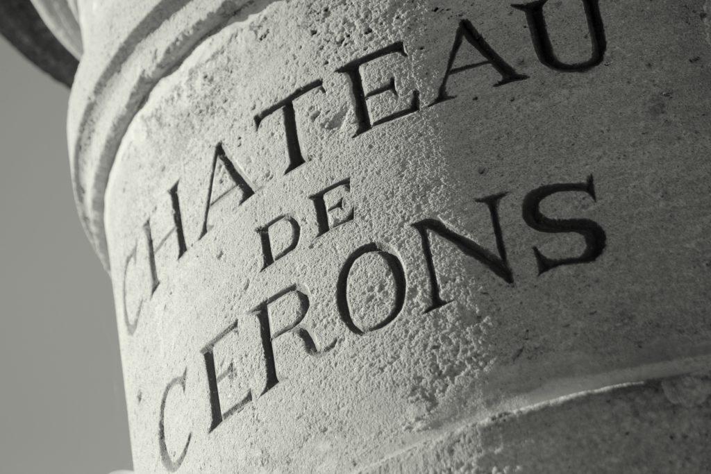 Etiquette de vin Château de Cérons