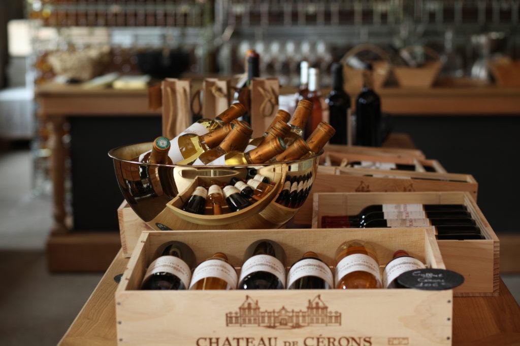 Caisse de vins Château de Cérons