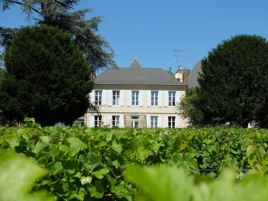 Façade Château Jouvente