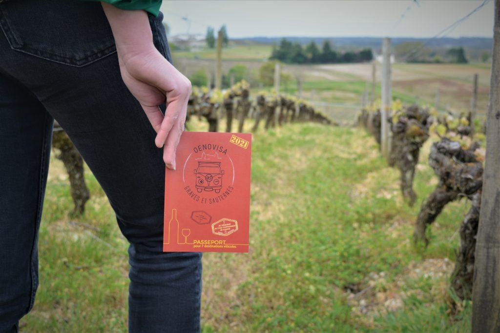 Passeport oenovisa dans les vignes